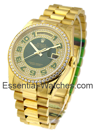 Rolex Unworn Men's Yellow Gold PRESIDENT   Special Edition