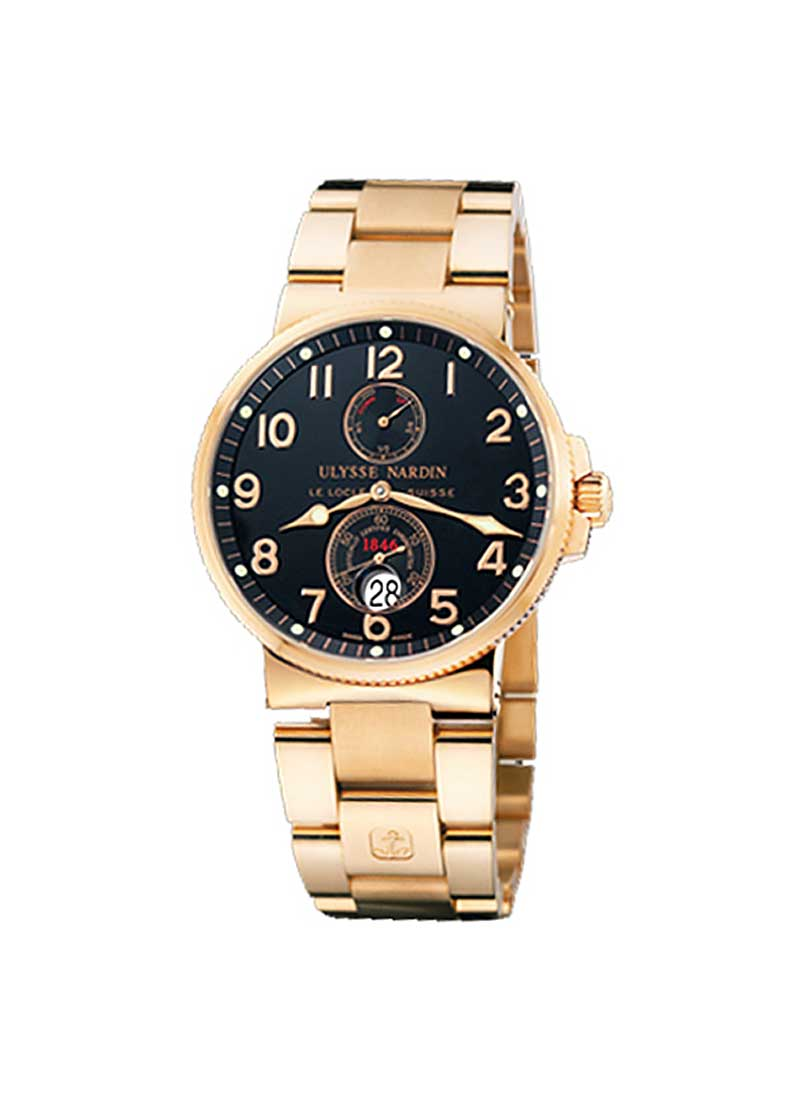 Ulysse Nardin Maxi Marine Chronometer 41mm in Rose Gold