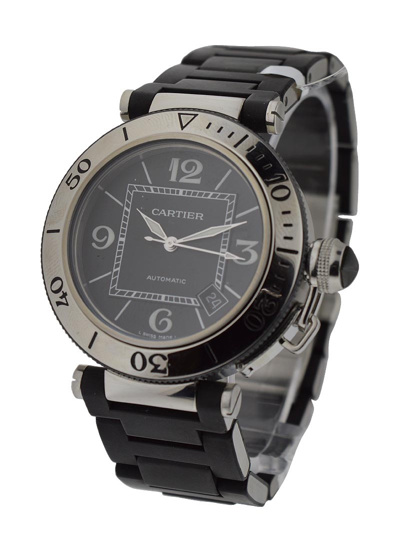 Cartier Pasha Seatimer in Steel