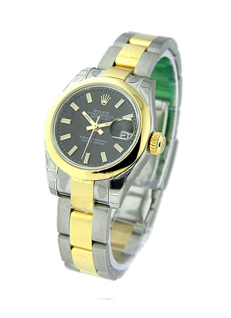 Rolex Unworn Lady's 2 Tone Datejust with Oyster Bracelet 179163