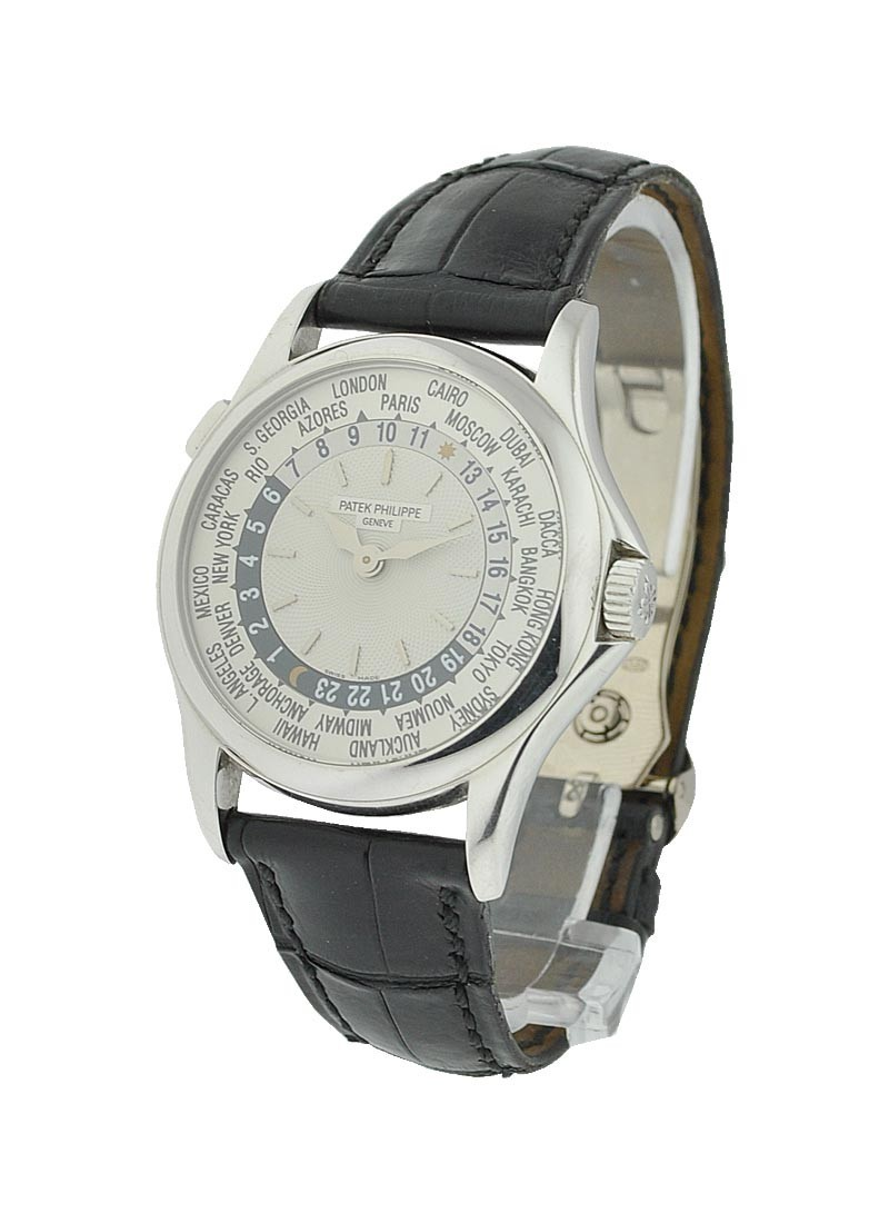 Patek Philippe World Time Ref 5110G in White Gold