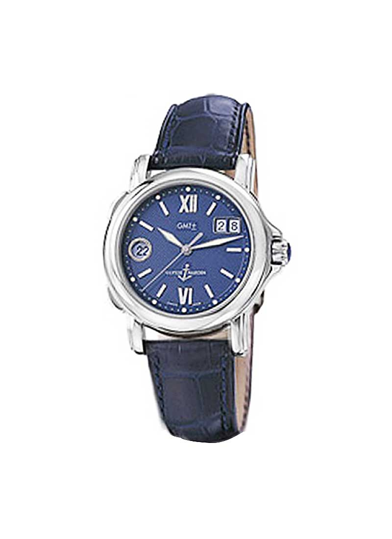 Ulysse Nardin Dual Time GMT Big Date 37mm in Steel