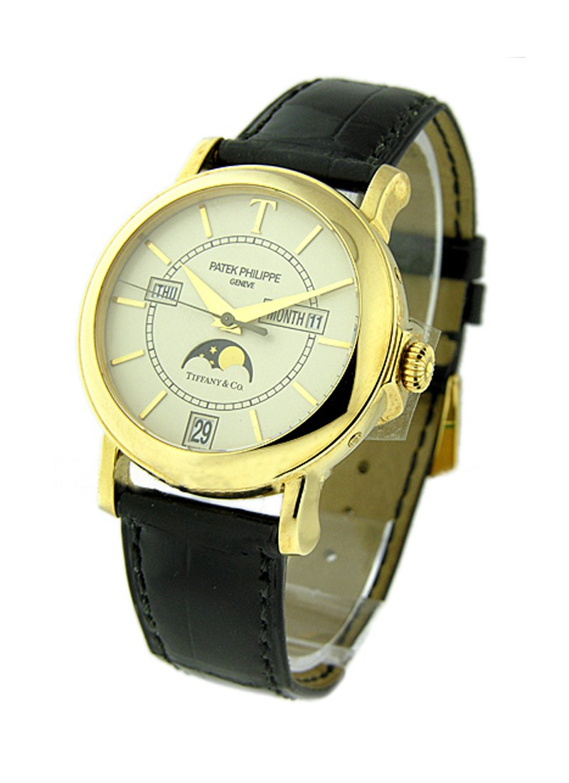 Patek Philippe 5150J - T150 Annual Calendar in Yellow Gold - Tiffany Special Edition 2001 -