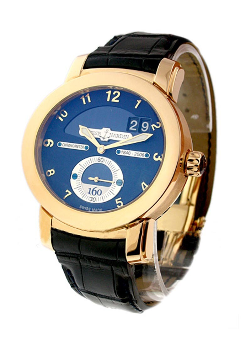 Ulysse Nardin Anniversary 160 Mens Automatic in Rose Gold