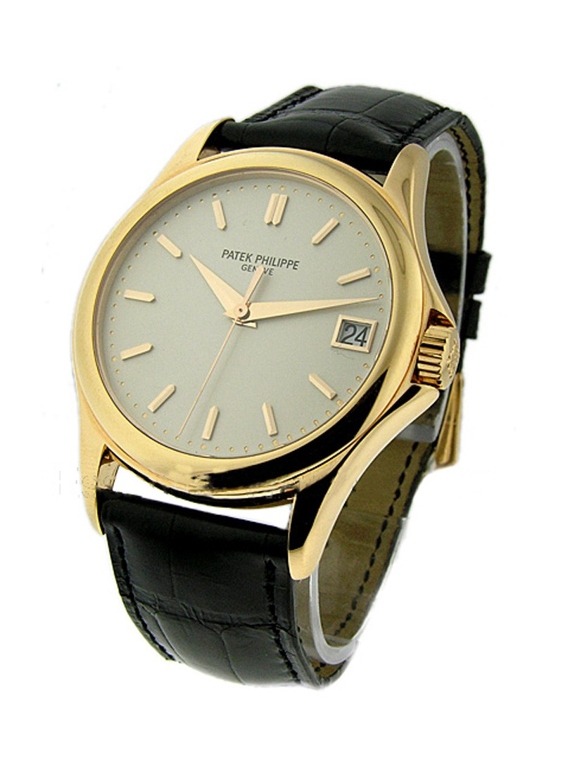 Patek Philippe Calatrava Automatic in Rose Gold