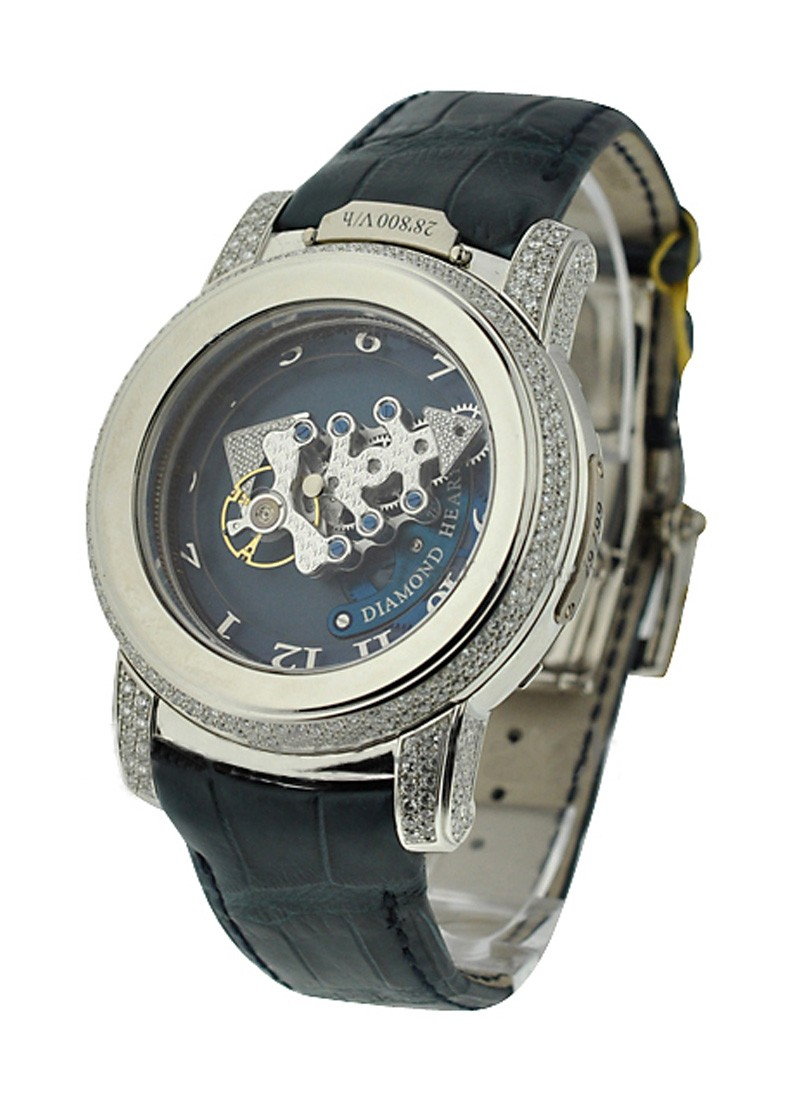 Ulysse Nardin Platinum Freak Diamond Heart Tourbillon