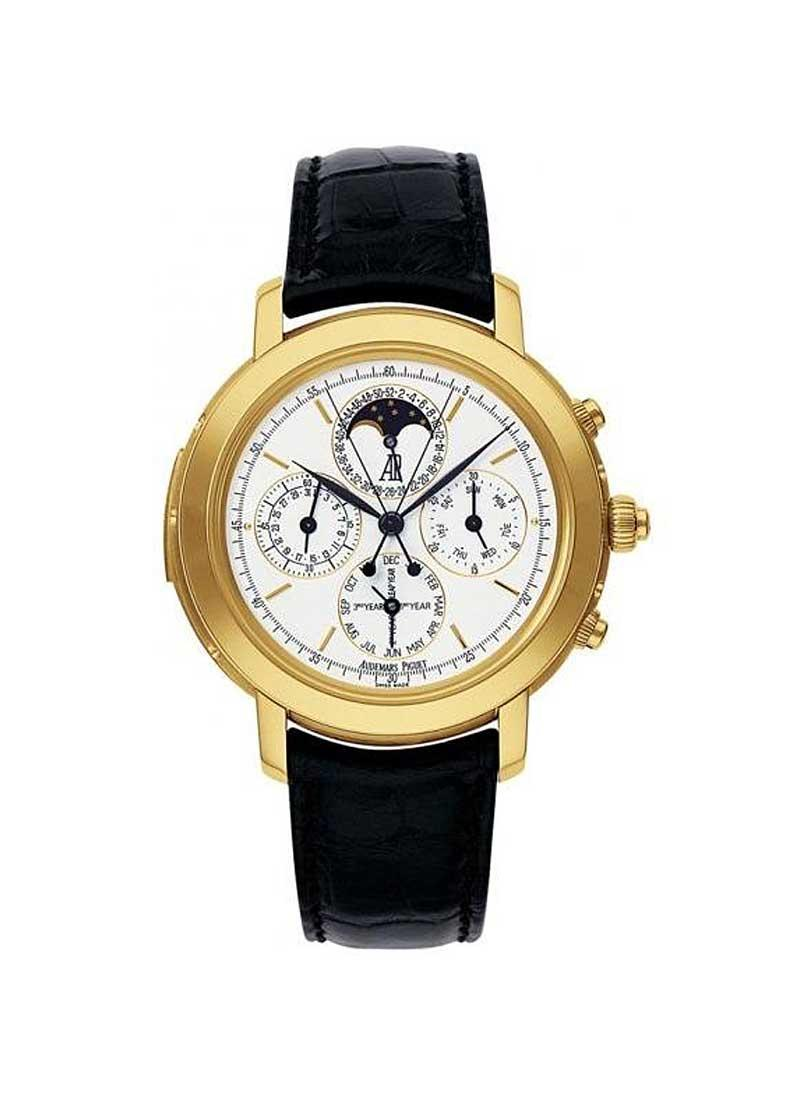 Audemars Piguet Jules Audemars Grande Complication in Yellow Gold