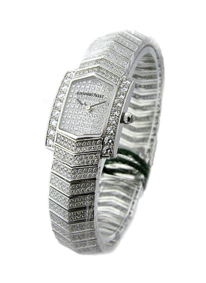 Audemars Piguet Facettes Ladys Collection in White Gold with Diamond Bezel