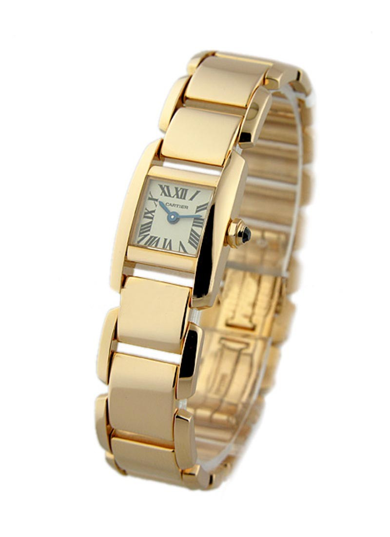 Cartier Tankissime Fall in Love 17mm in Rose Gold
