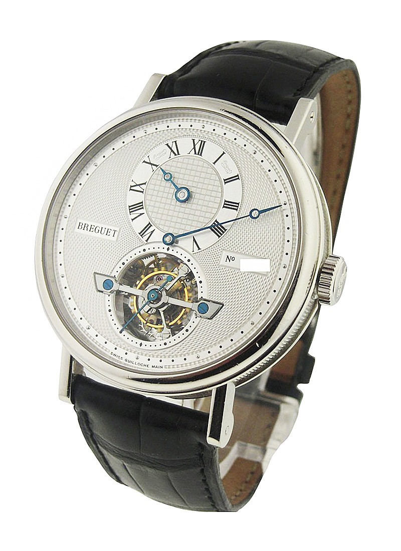 Breguet Regulator Tourbillon 40mm Automatic in Platinium