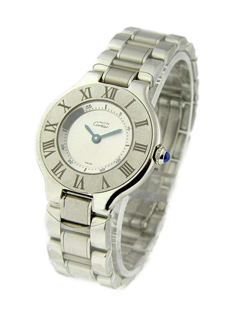 Cartier Must 21- Small Size in Steel