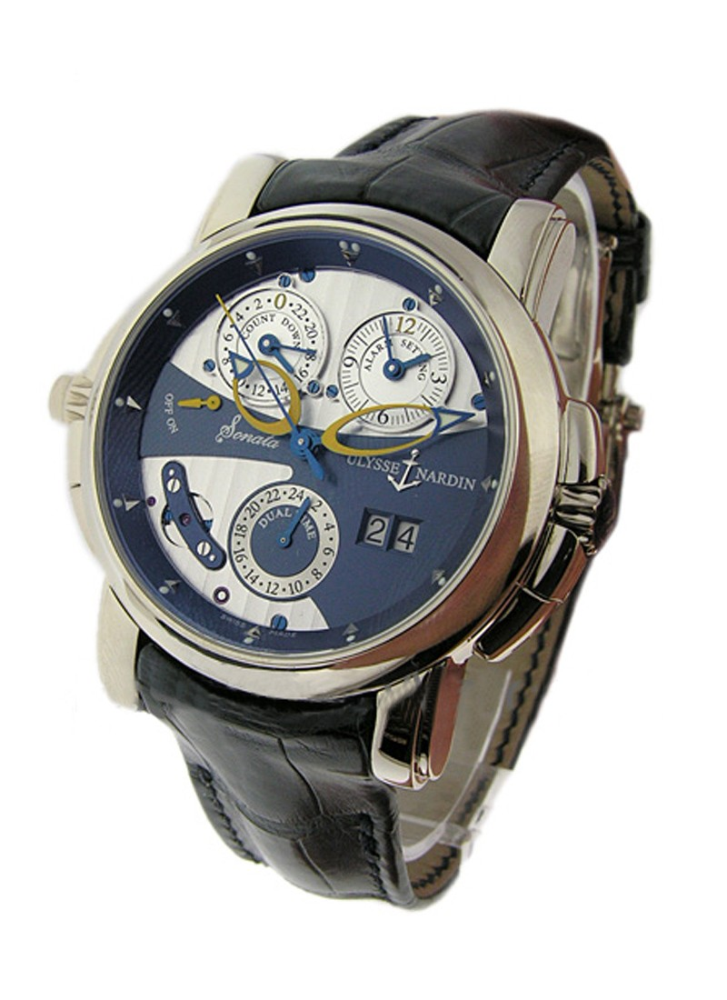 Ulysse Nardin Sonata Cathedral Men's Automatic in White Gold
