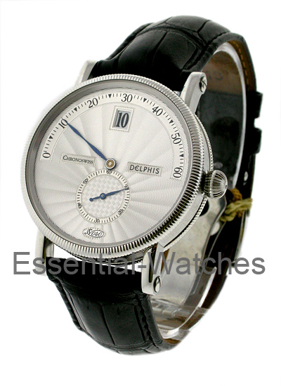 Chronoswiss Delphis Jump Hour Men's Automatic in Steel