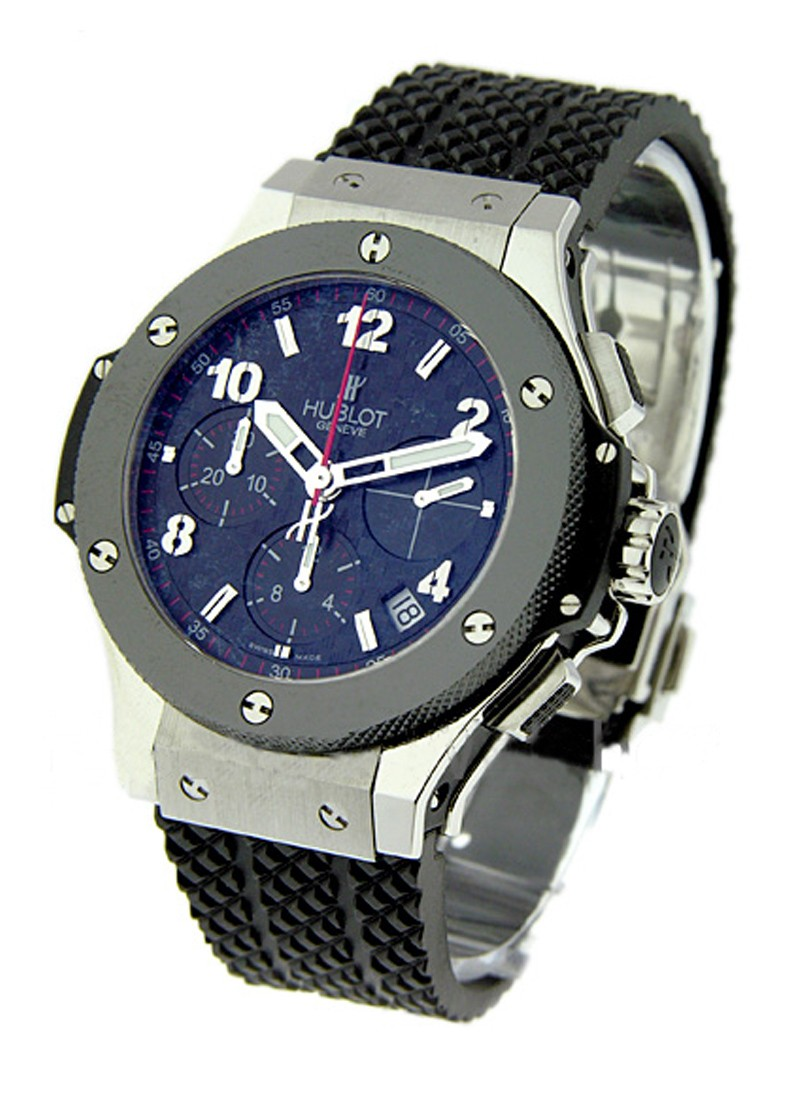 Hublot Big Bang 41mm Automatic in Steel with Ceramic Bezel