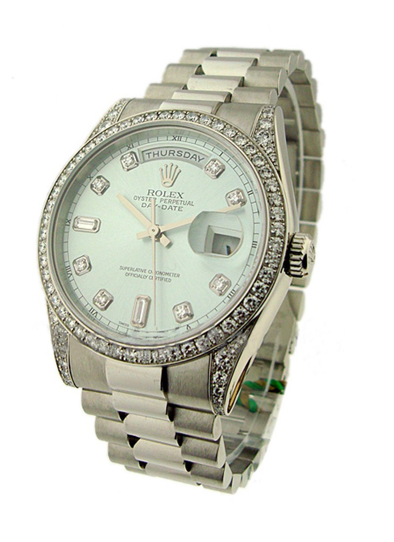 Rolex Unworn Platinum Men's President Day-Date