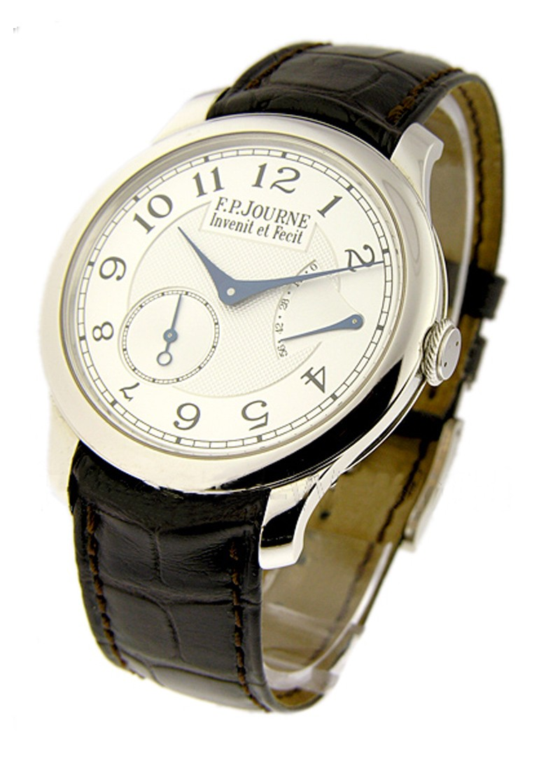 FP Journe Chronometre Souverain in Platinum