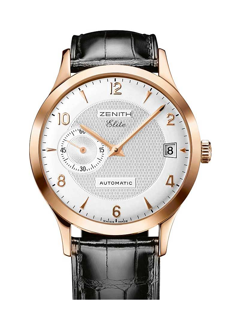 Zenith Class Elite in Rose Gold