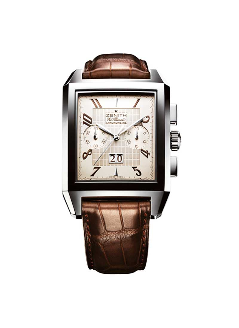 Zenith Grande Port Royal Grande Date in Steel