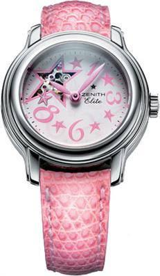 Zenith Baby Star Sky Open in Steel