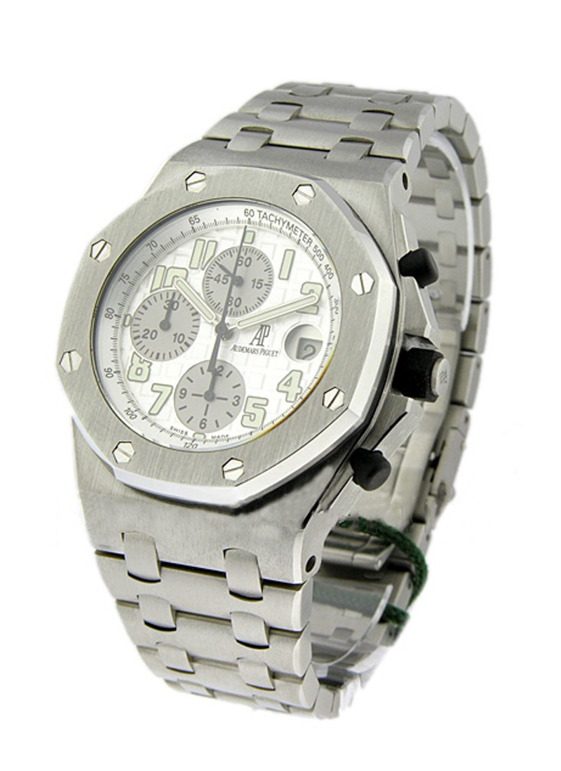 Audemars Piguet Royal Oak Offshore Chronograph in Stainless Steel