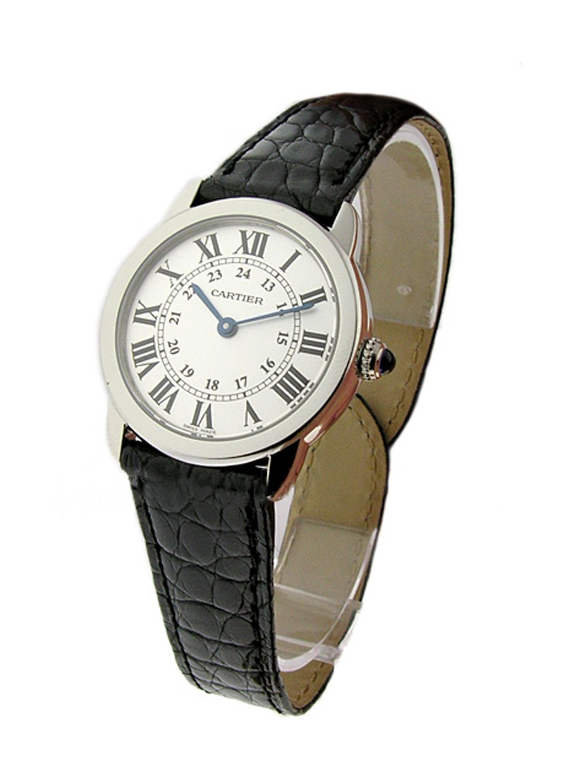 Cartier Ronde Louis in Steel