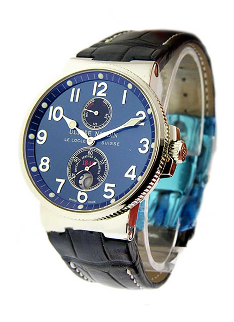 Ulysse Nardin Maxi Marine Chronometer 41mm in Steel
