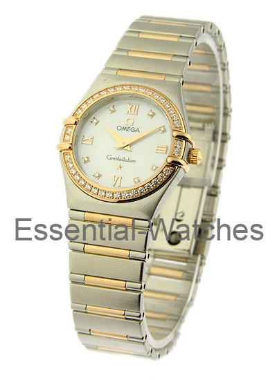 Omega Constellation 95 - Rose Gold Diamond Bezel
