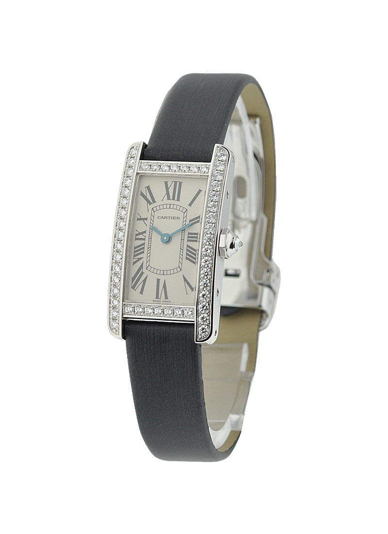 Cartier Tank Americaine Small Size - Diamond Bezel
