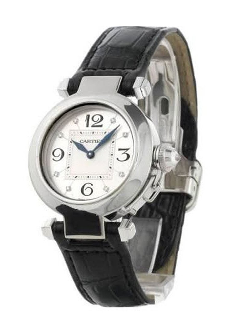 Cartier Pasha 32mm in White Gold