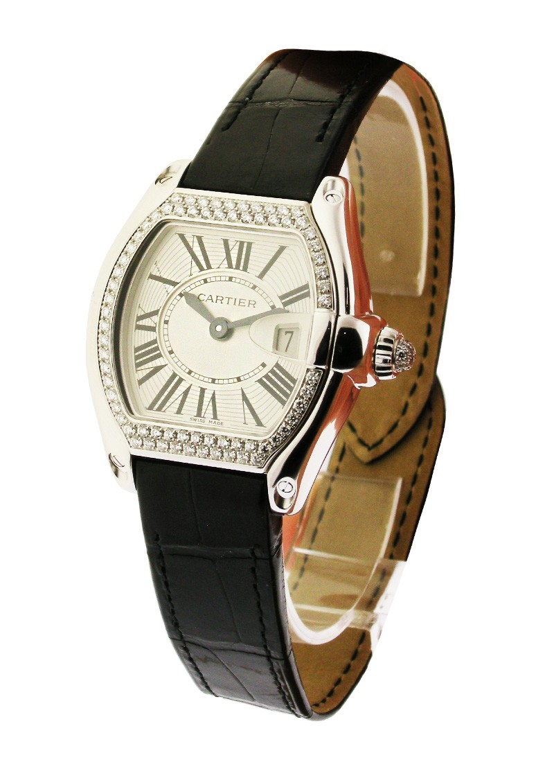 Cartier Lady''s Roadster   Diamond Set Bezel & Crown