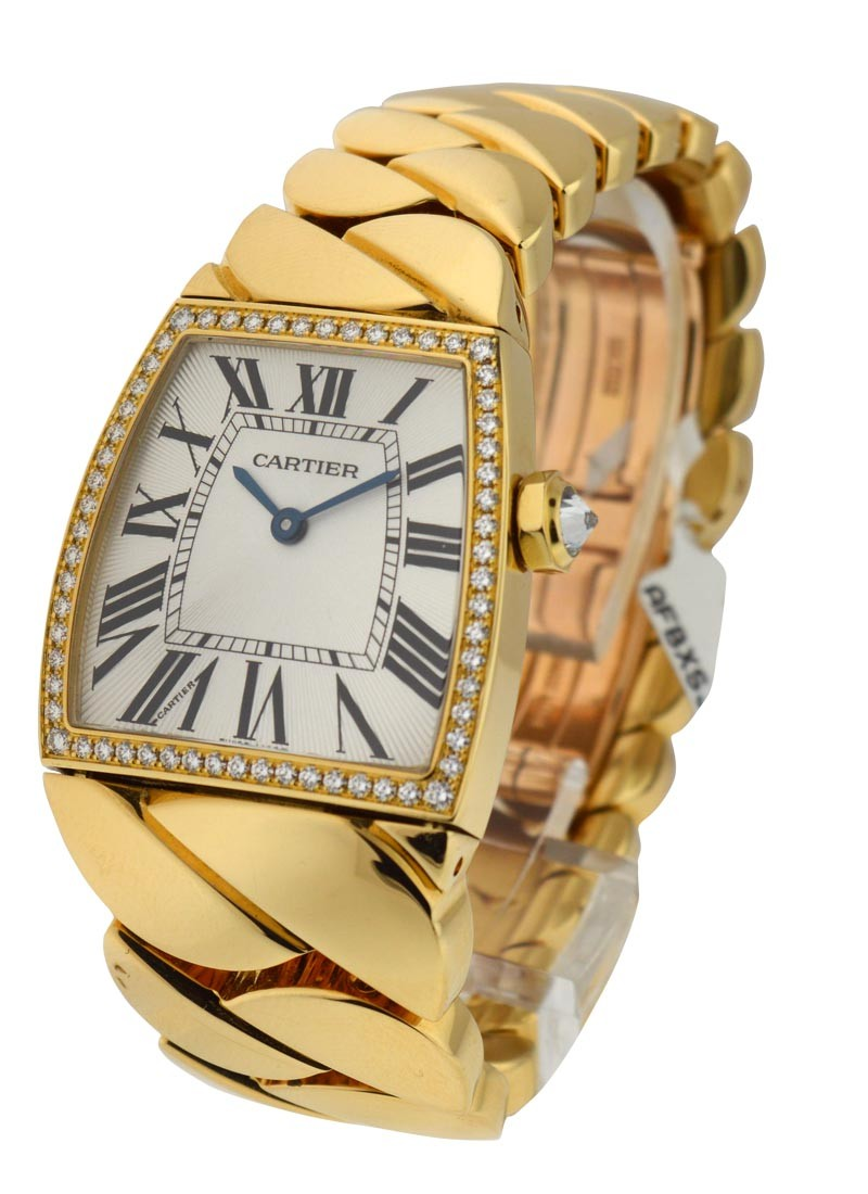 Cartier La Dona de Cartier - Large Size in Yellow Gold with Diamond Bezel