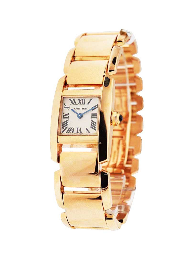 Cartier Tankissime 20mm in Rose Gold