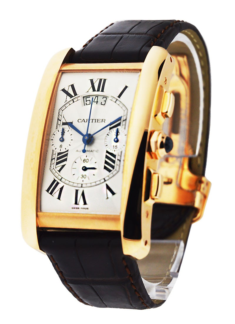 Cartier Tank Americaine   Chronograph XL