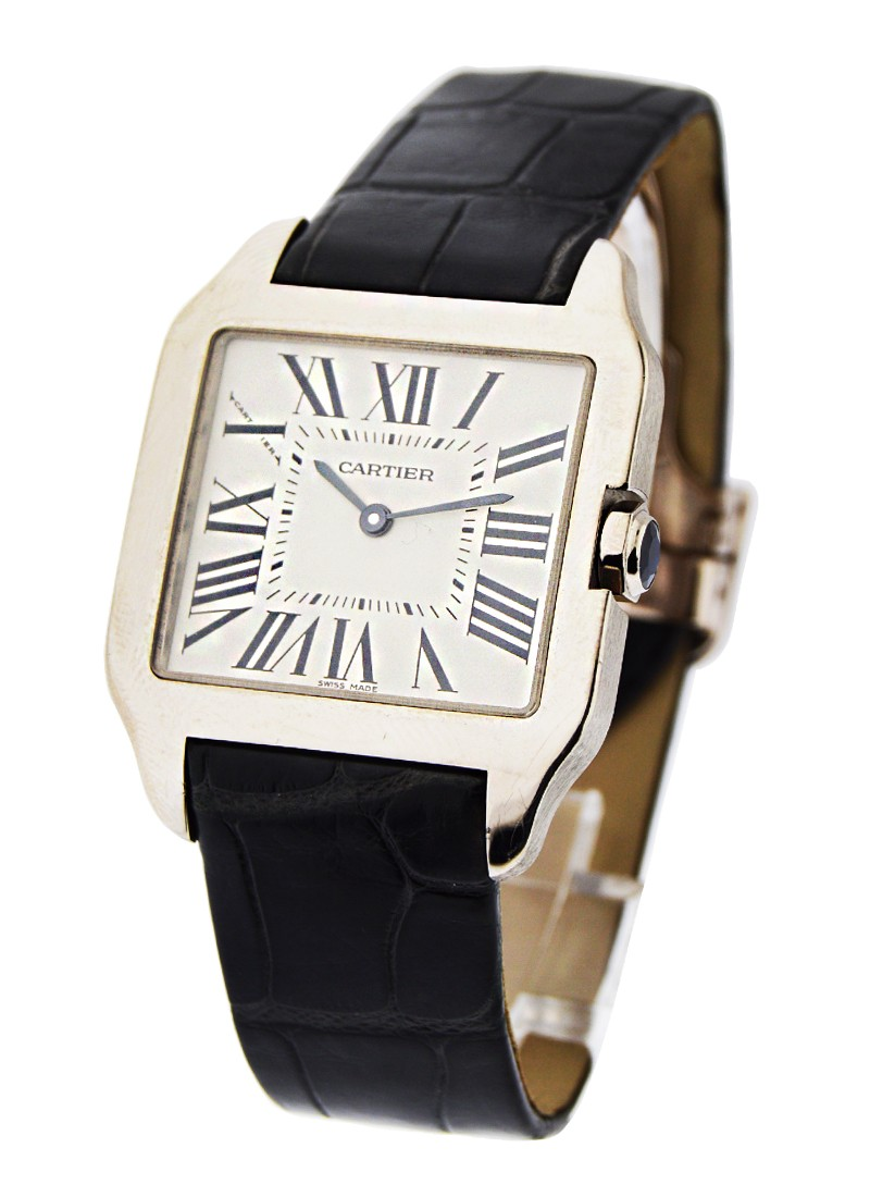 Cartier Santos Dumont - Small Size in White Gold