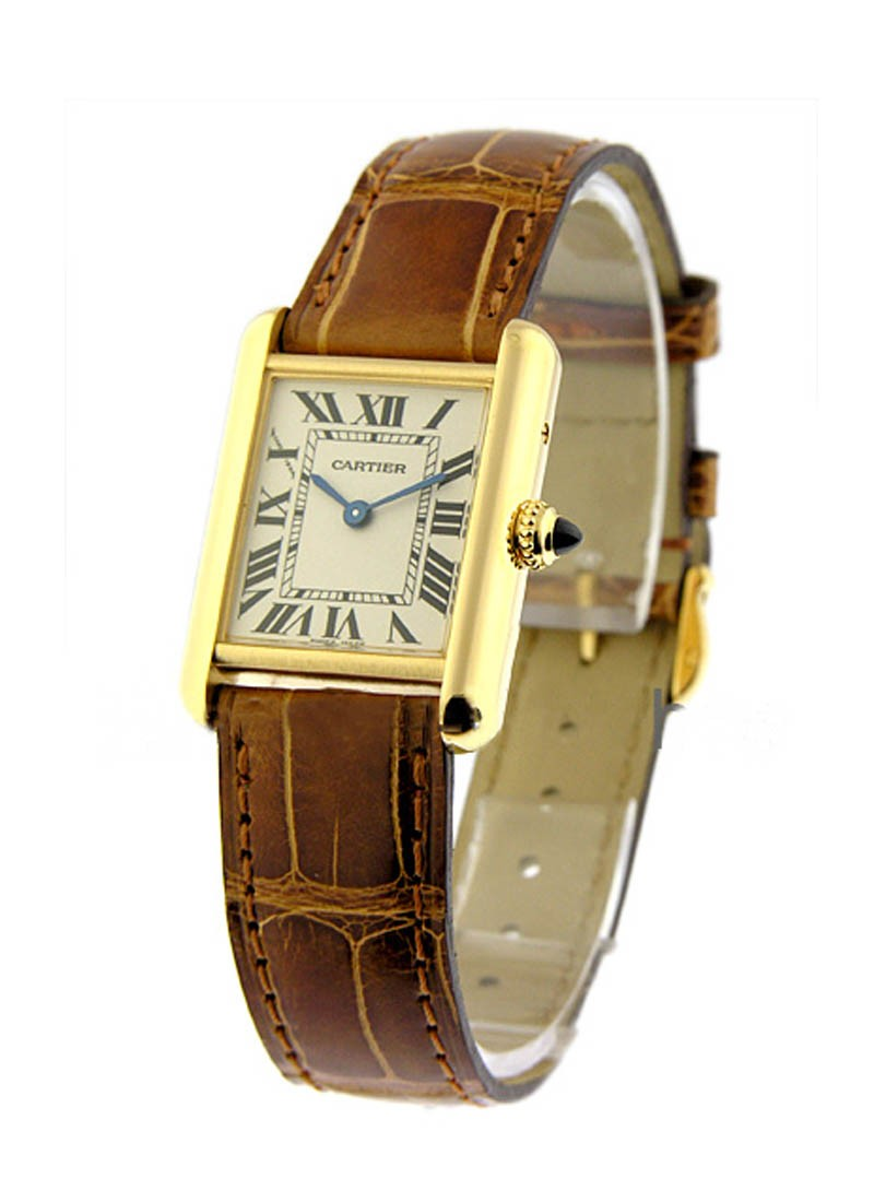 Cartier Tank Louis Cartier Small Size in Yellow Gold