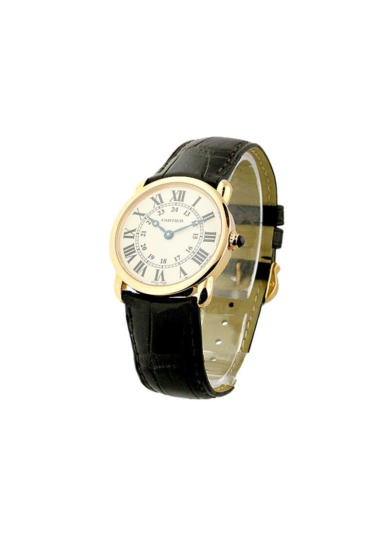 Cartier Ronde Louis Cartier in Rose Gold