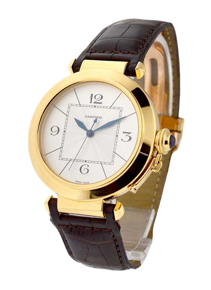 Cartier Pasha 42mm in Yellow Gold