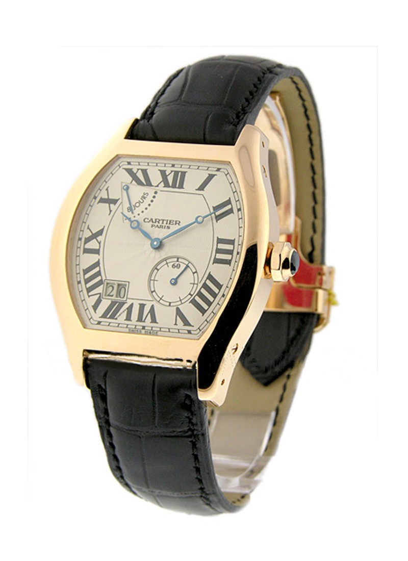 Cartier Tortue XL - 8 Day Power Reserve in Rose Gold