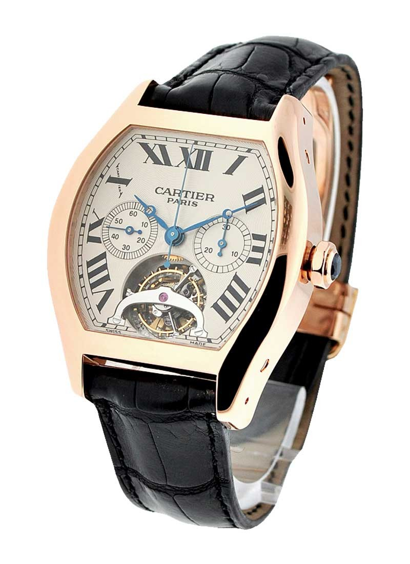 Cartier Tortue XL - Tourbillon Chronograph