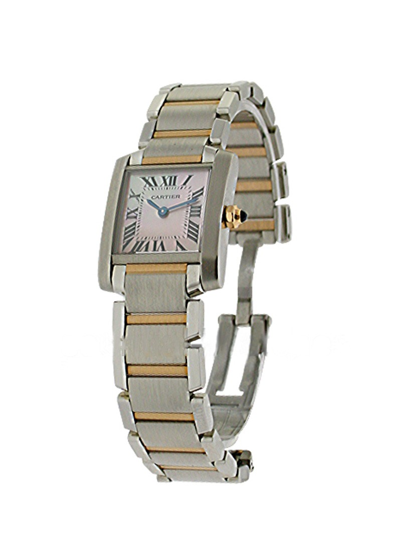 Cartier Tank Francaise - Small Size in Steel