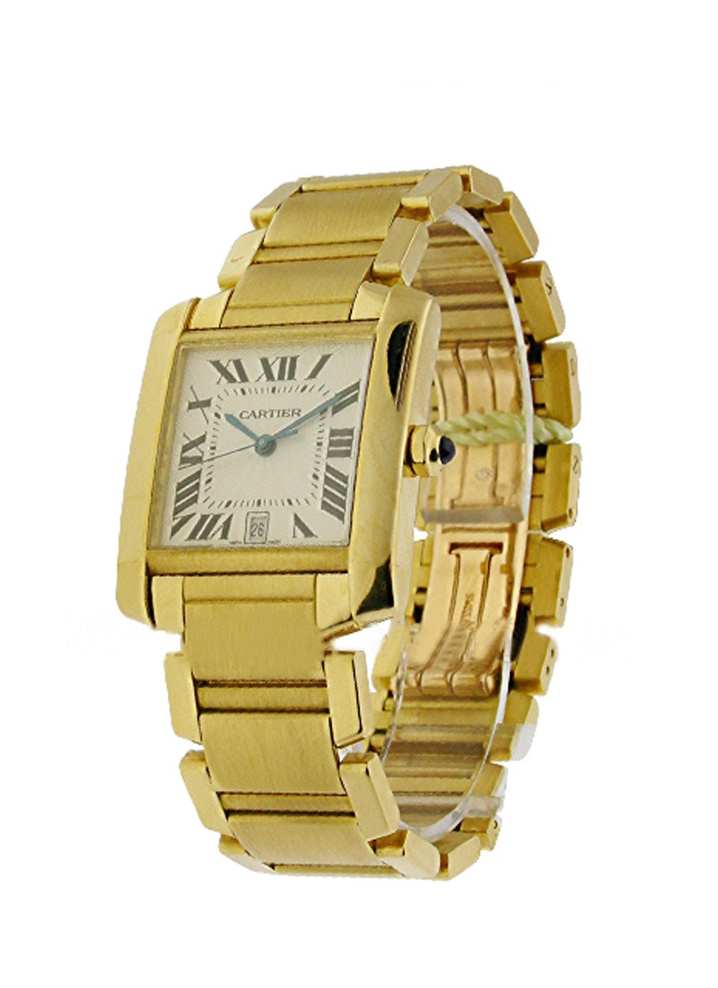 Cartier Tank Francaise - Large Size - Yellow Gold