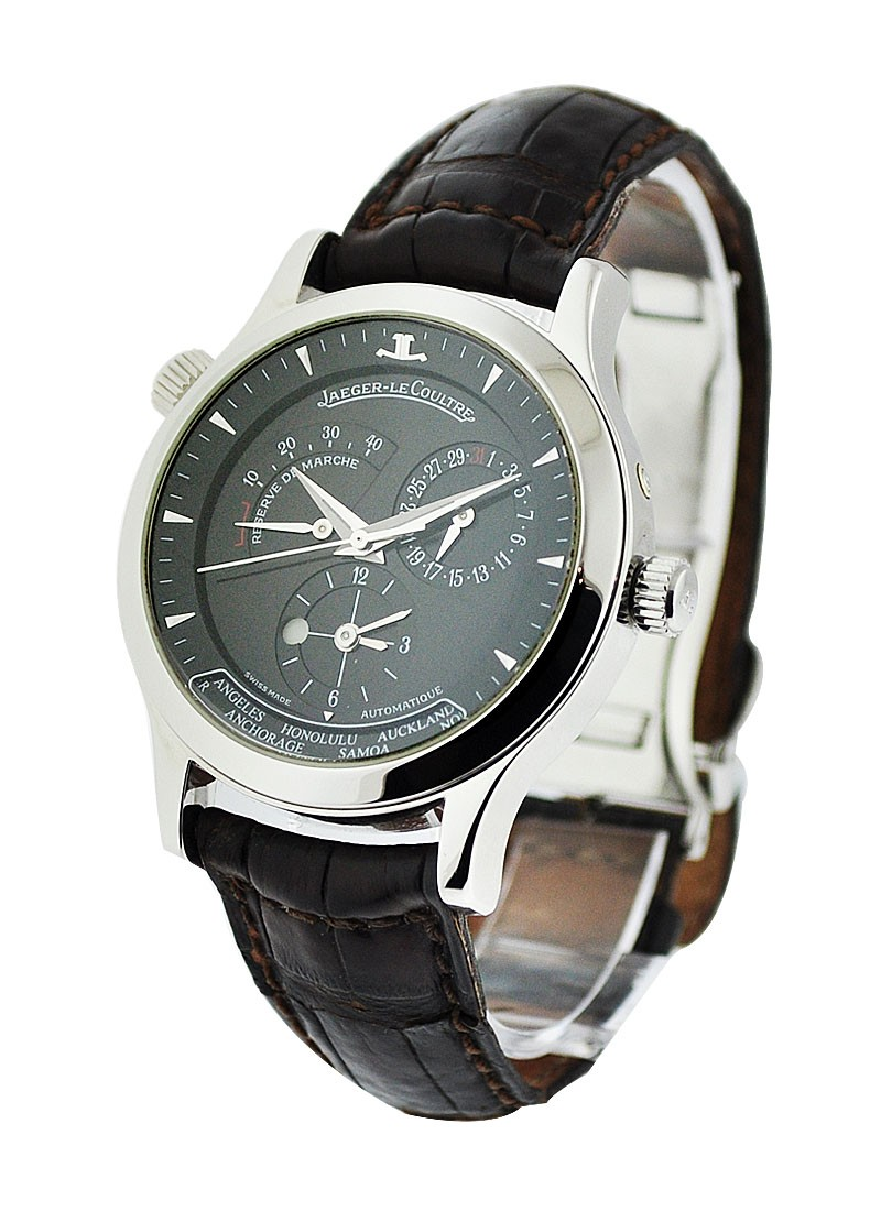 Jaeger - LeCoultre Master Geographic 38mm in Steel