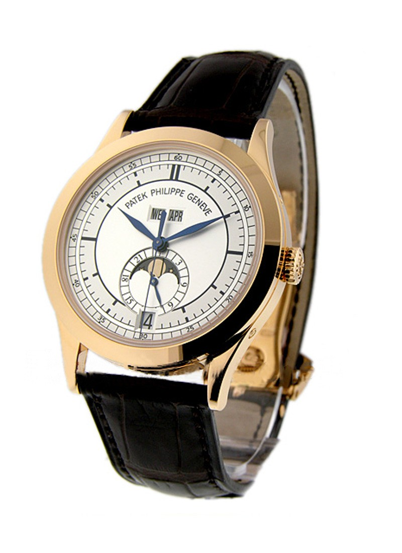 Patek Philippe Annual Calendar 5396R with Moon Phase in Rose Gold
