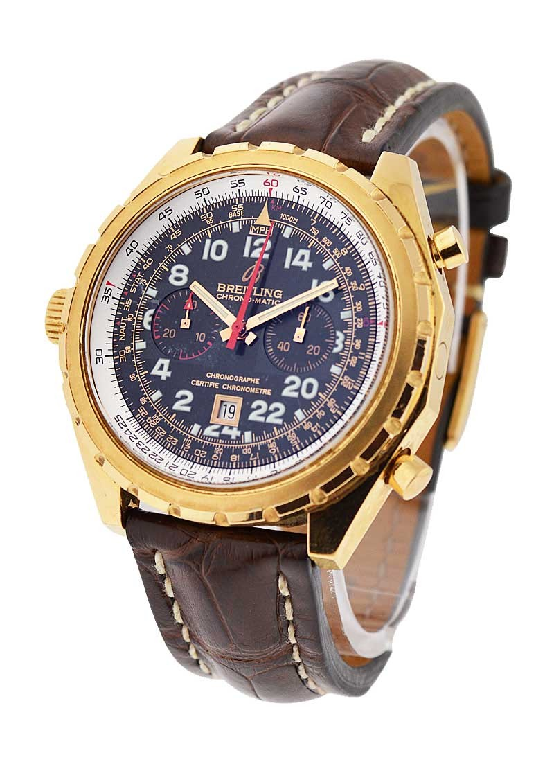 Breitling Navitimer Chrono-Matic 24H in Rose Gold