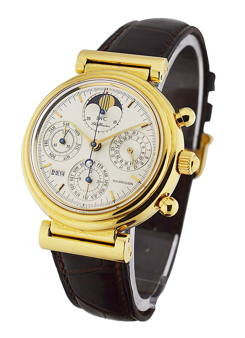 IWC Da Vinci Tourbillon in Yellow Gold   Limited Edition
