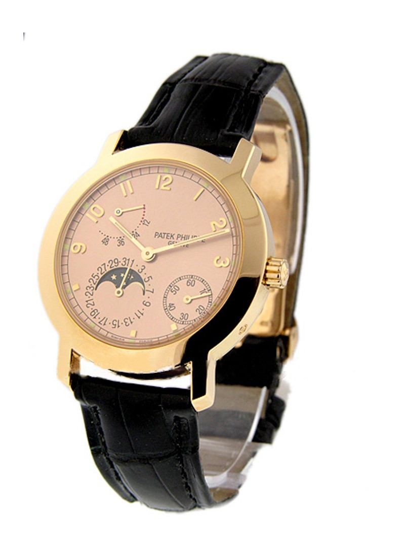 Patek Philippe 5055 Moonphase Power Reserve in Rose Gold