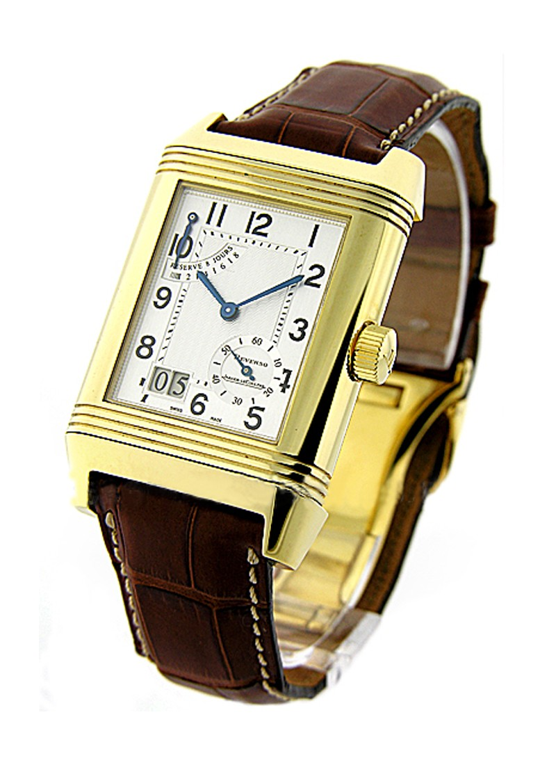 Jaeger - LeCoultre Reverso Grande Date in Yellow Gold