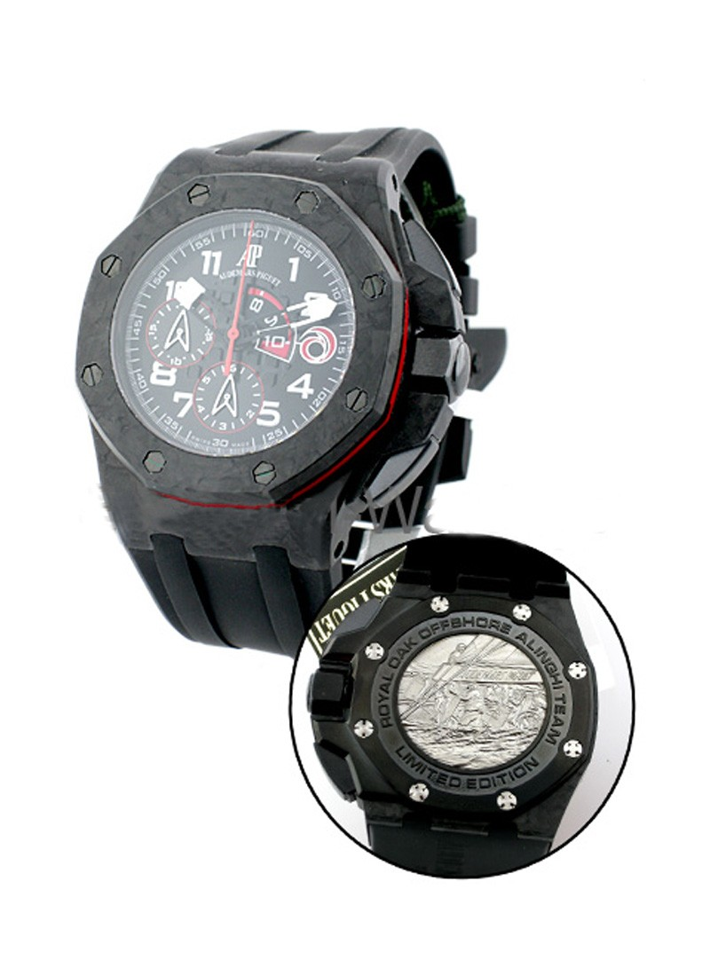 Audemars Piguet Team Alinghi Carbon - Offshore Royal Oak in Forged Carbon