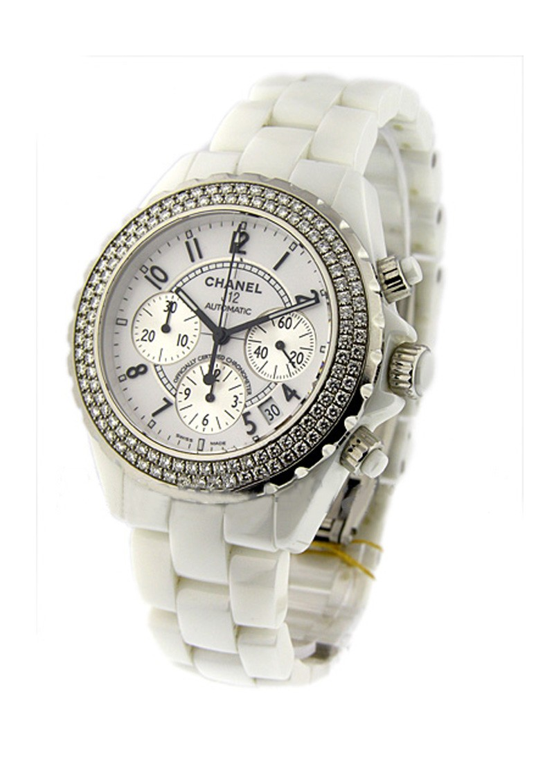 Chanel J12 - Chronograph with Diamond Bezel H1008