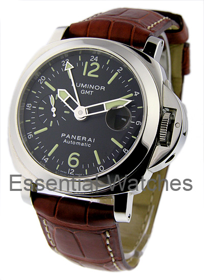 Panerai PAM 237 - LUMINOR GMT Brad Pitt in Steel